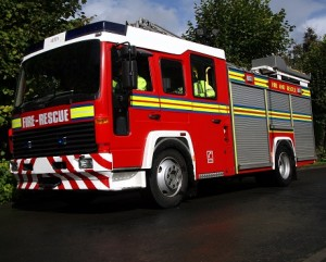UK fire engine