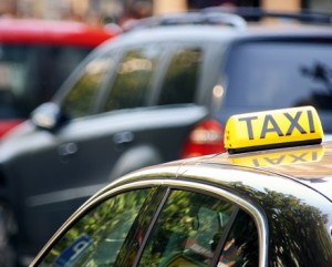 Private taxi, representing commercial car insurance