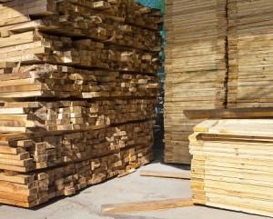 Timber wholesale yard