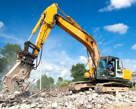 Demolition vehicle representing Demolition Insurance