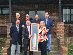 Reading Cricket and Hockey Club cricket bat competition winners